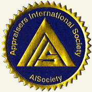 AiCertfied AiSV, AiSCV Accredited International Valuer Registry License #'d AISociety Titled Member Logo