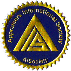 "AISociety Seal appearing on ""AiCore Completion / AiSV Member"" Certificates & ""AiSCV"" AVS Advanced Valuation Specialist & AiSpecialty Diplomas"