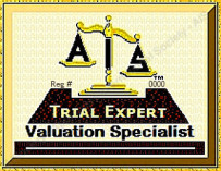 "AiSCV-AVS Graduates' ""AIS Trial Expert:   Valuation Specialist"" Logo, used with  AiV-Reg# imprinted and as per AiS-ToS"