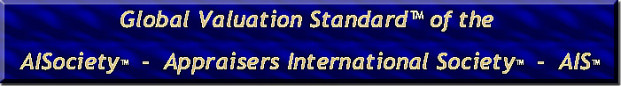 """AiCertification's Multi-Specialty 4th-Decade AIStandard is personal property appraisal's """"Global Valuation Standard™ GVS"""""""