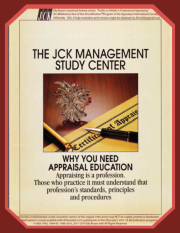 "Elly Rosen's Oct-1994 JCK Manage Study Center Feature Article:  ""Why You Need Appraisal Education: Profits vs. Pitfalls in Professional Appraising"""