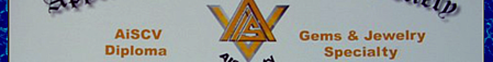 """AISociety """"AiSCV-GJS Gems & Jewelry / Jewellery"""" Specialty Triple-Crown Graduate Diploma Education, Testing, Certification & Referrals Program"""